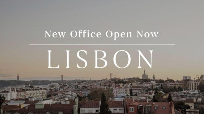 Lisbon real estate agent open for business
